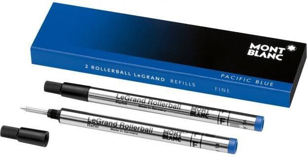 ΑΝΤΑΛΛΑΚΤΙΚΟ MontBlanc Rollerball Refill Legrand Fine Pacific Blue (2 TMX) 105167