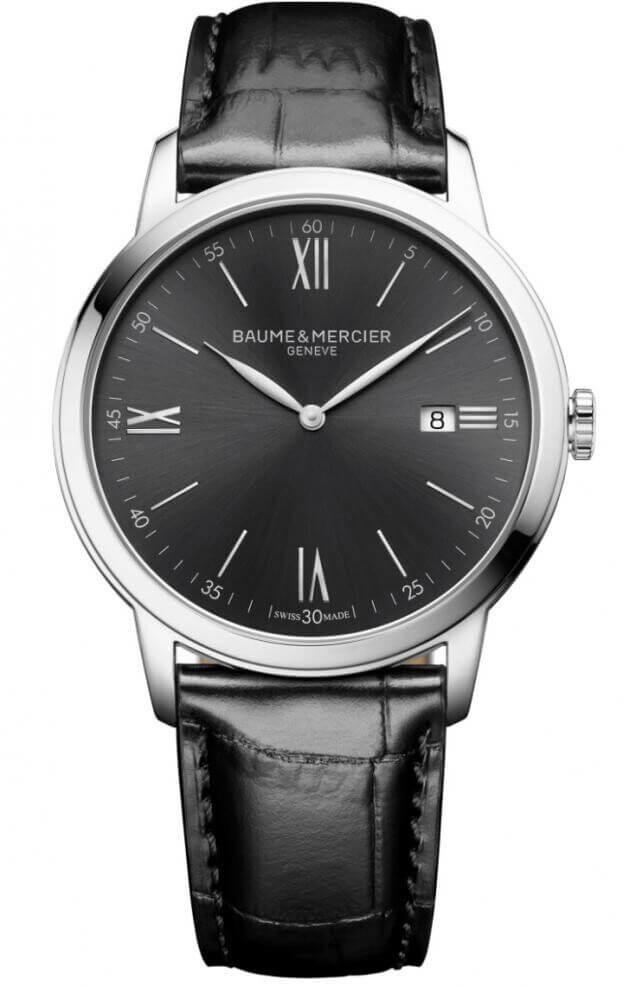 BAUME et MERCIER CLASSIMA 42mm Γκρι Καντράν Ανδρικό Ρολόι