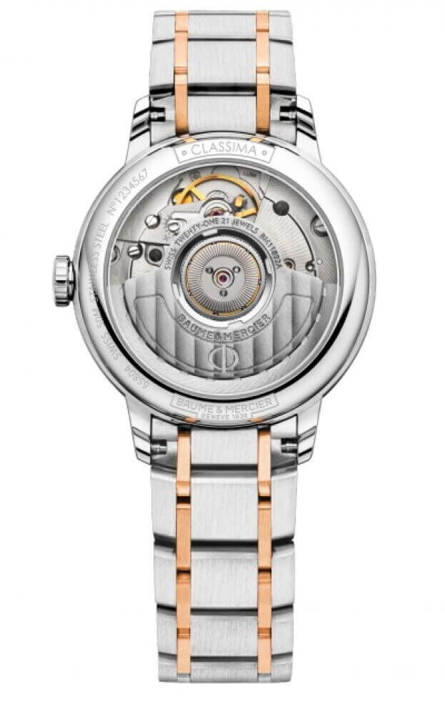 BAUME et MERCIER Classima Automatic 31mm Λευκό Καντράν Γυναικείο Ρολόι