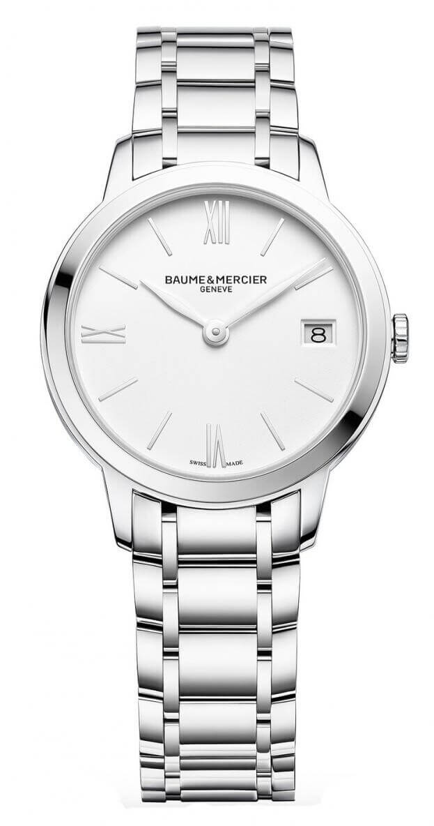 BAUME et MERCIER Classima 31mm Λευκό Καντράν Γυναικείο Ρολόι