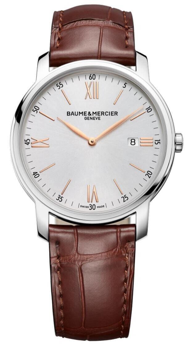 BAUME et MERCIER CLASSIMA 42mm White Dial Mens Watch