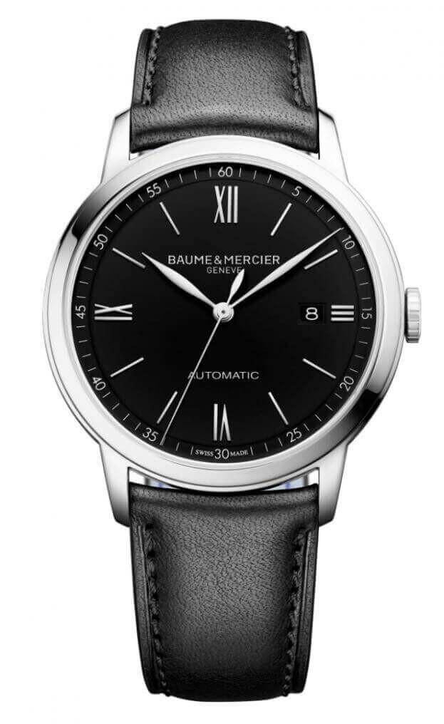 BAUME et MERCIER Classima Automatic 42mm Μαύρο Καντράν Ανδρικό Ρολόι