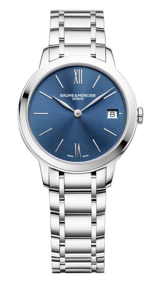 BAUME et MERCIER Classima Classima 31mm Μπλε Καντράν Γυναικείο Ρολόι