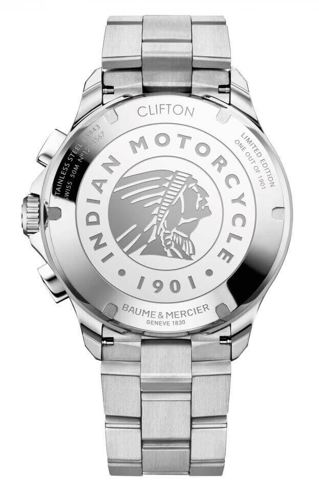 BAUME et MERCIER Clifton Club Automatic Chronograph 44mm Limited Edition Μαύρο Καντράν