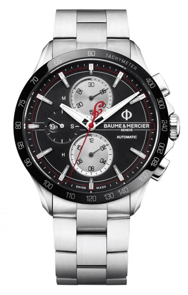 BAUME et MERCIER Clifton Club Automatic Chronograph 44mm Limited Edition Μαύρο Καντράν