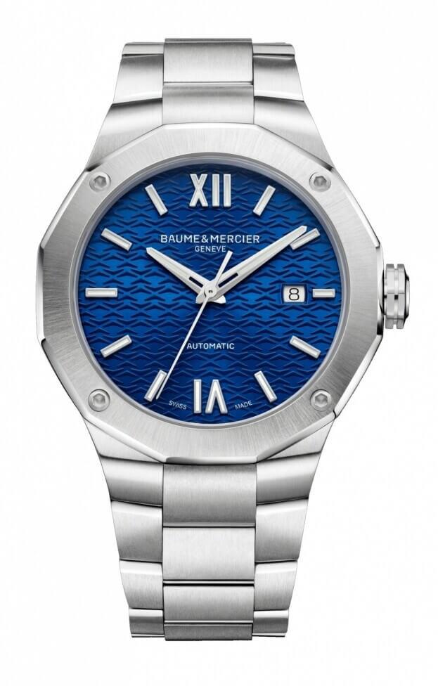 BAUME et MERCIER Riviera Automatic 42mm Blue Dial Mens Watch