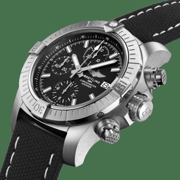 BREITLING Avenger Chronograph Automatic 43mm Μαύρο Καντράν Ανδρικό Ρολόι