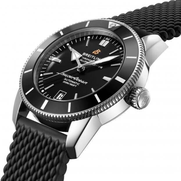 BREITLING BREITLING Superocean Heritage B20 Automatic 42mm Μαύρο Καντράν Ανδρικό Ρολόι