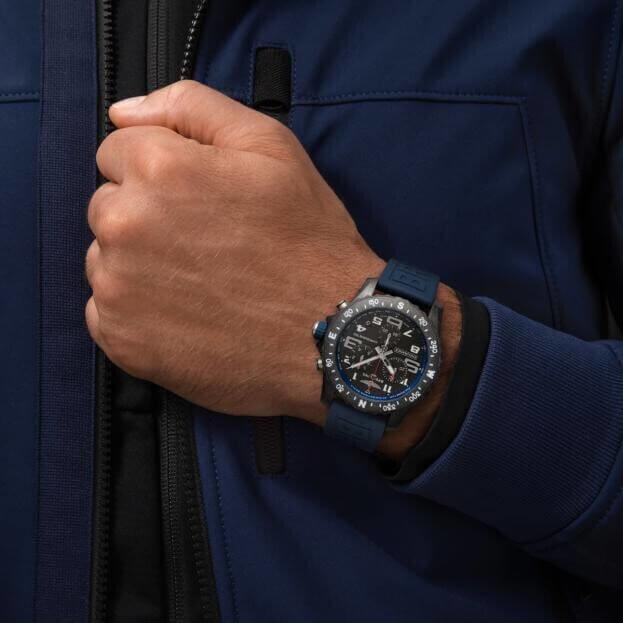 BREITLING ENDURANCE PRO Chronograph Super Quartz 44mm Μαύρο Καντράν Ανδρικό Ρολόι