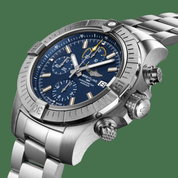 BREITLING Avenger Chronograph Automatic 45mm Μπλε Καντράν Ανδρικό Ρολόι