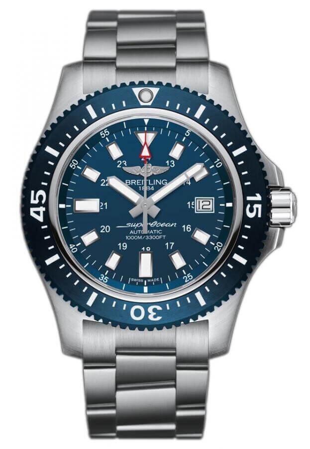 BREITLING Superocean 44 Special 44mm Μπλε Καντράν Ανδρικό Ρολόι