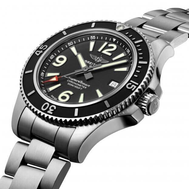 BREITLING Superocean Automatic 42mm Μαύρο Καντράν Ανδρικό Ρολόι