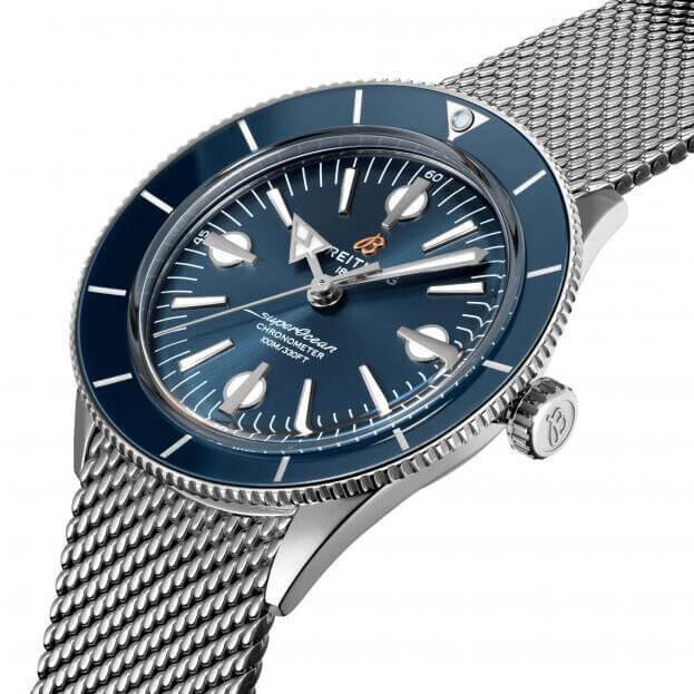 BREITLING Superocean Heritage 57 Automatic  42mm Μπλε Καντράν Ανδρικό Ρολόι