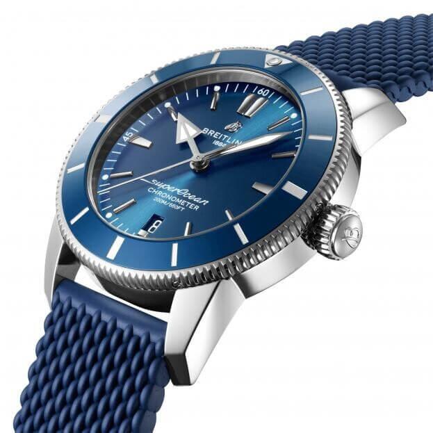 BREITLING Superocean Heritage B20 Automatic 46mm Μπλε Καντράν Ανδρικό Ρολόι