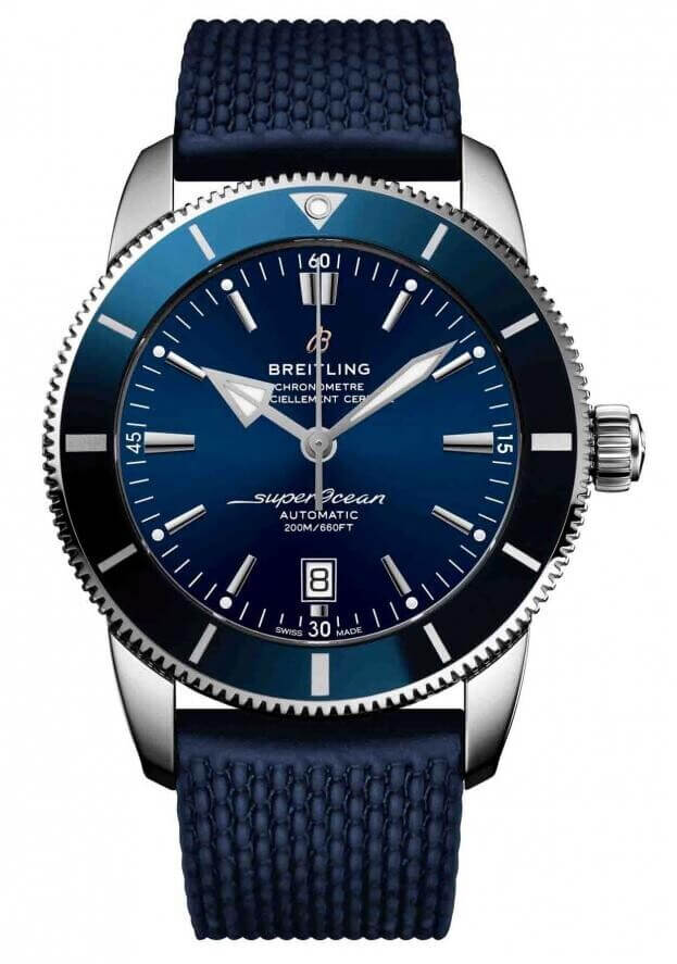 BREITLING Superocean Heritage II Automatic 46mm Μπλε Καντράν Ανδρικό Ρολόι