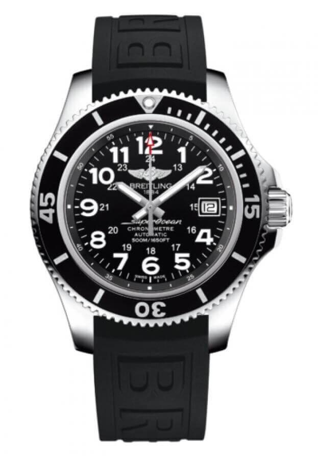BREITLING Superocean II Automatic 42mm Μαύρο Καντράν Ανδρικό Ρολόι