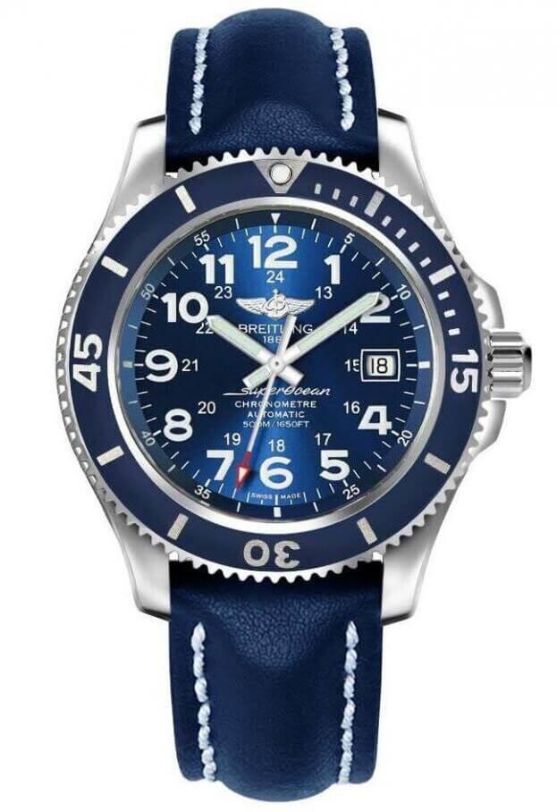 BREITLING Superocean II Automatic 42mm Μπλε Καντράν Ανδρικό Ρολόι