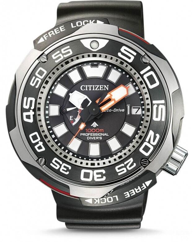 CITIZEN ECO DRIVE PROMASTER Professional 1000m diver's watch 52.5mm