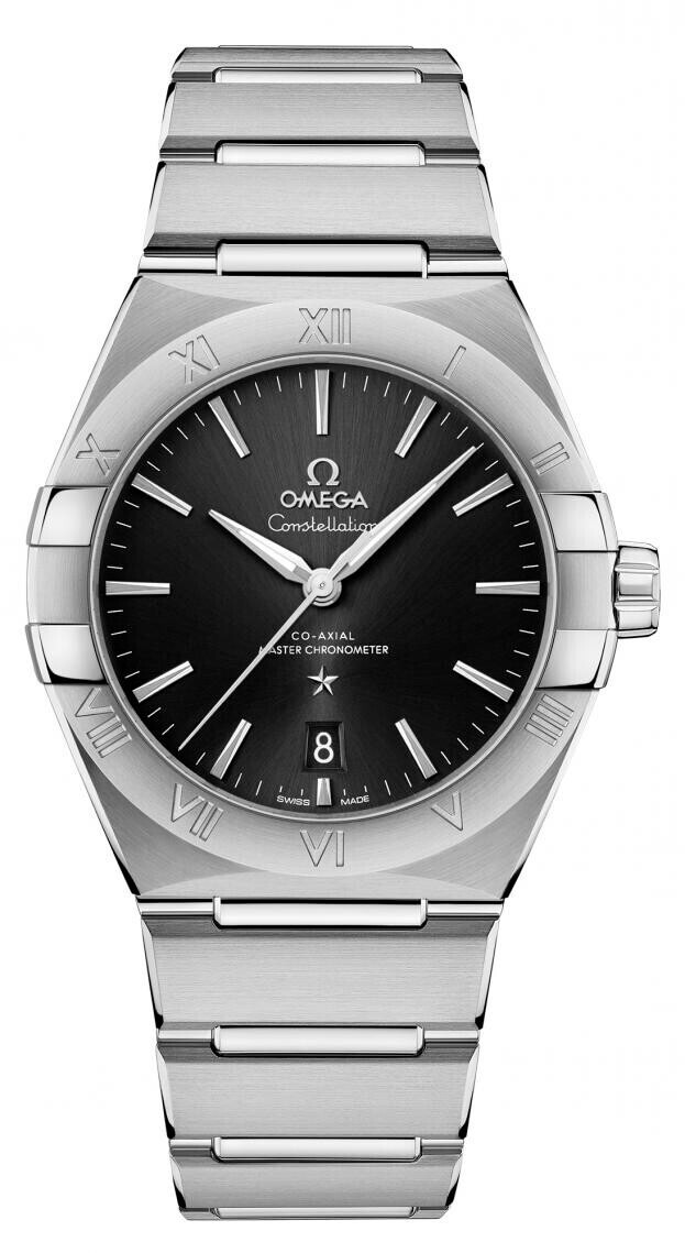 OMEGA Constellation Co-axial Master Chronometer 39mm Μαύρο Καντράν Ανδρικό Ρολόι