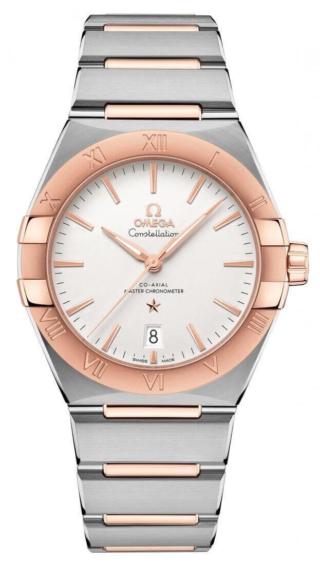 OMEGA Constellation Co-axial Master Chronometer 39mm Ασημί Καντράν Ανδρικό Ρολόι