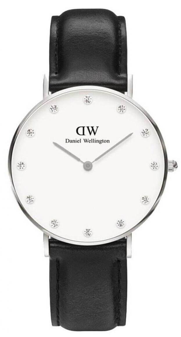 DANIEL WELLINGTON CLASSY SHEFFIELD Quartz 34mm Λευκό Καντράν Γυναικείο Ρολόι