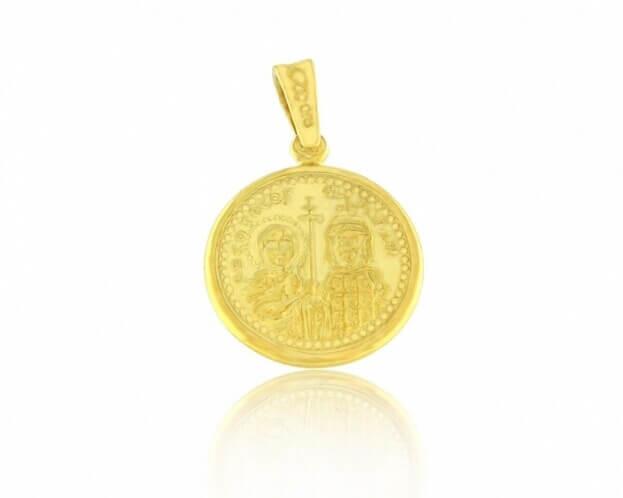 FACADORO Κωνσταντινάτο Κίτρινος Χρυσός Κ14