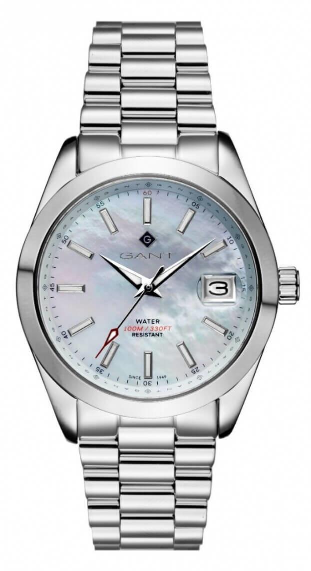 GANT Eastham 38mm Λευκό Φίλντισι Καντράν Γυναικείο Ρολόι