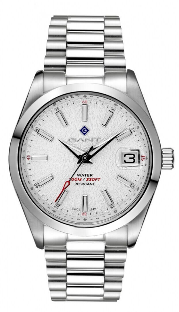 GANT Eastham 42mm Λευκό Καντράν Ανδρικό Ρολόι