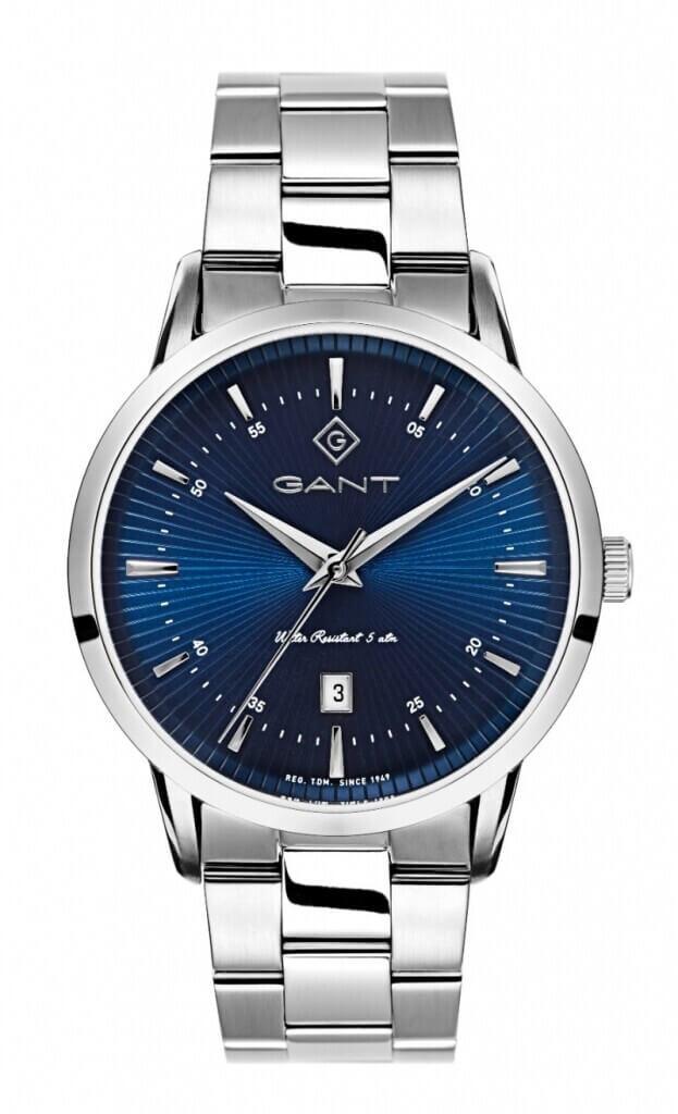 GANT Houston 40mm Μπλε Καντράν Ανδρικό Ρολόι