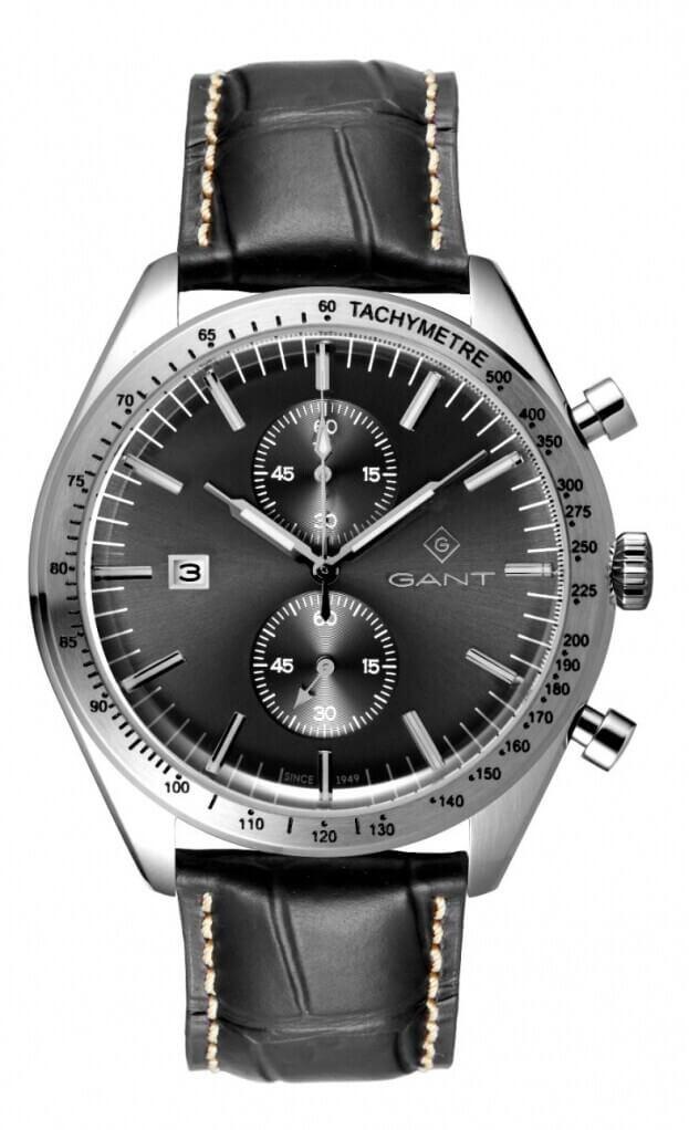 GANT Northampton Ανδρικός Χρονογράφος 44.5mm Μαύρο Καντράν Ανδρικό Ρολόι