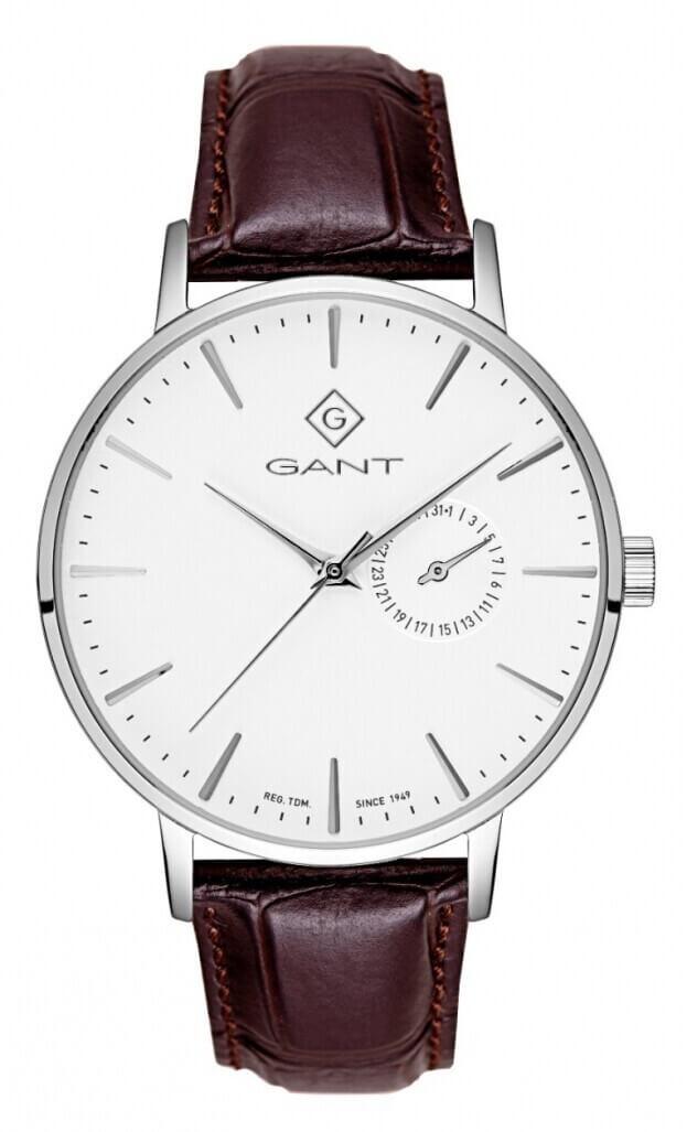 GANT Park Hill III  41.5mm White Dial Mens Watch