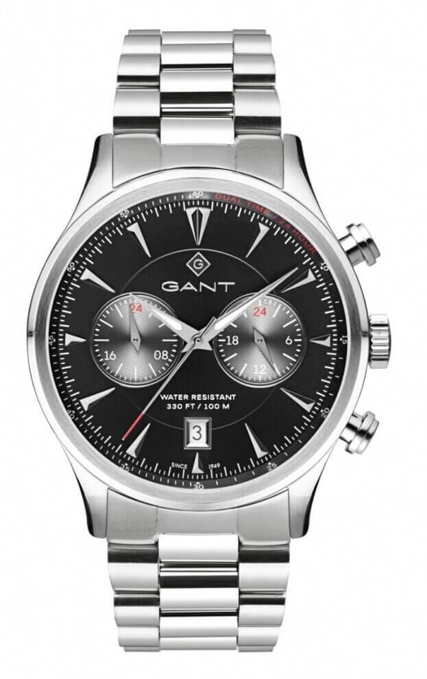 GANT Spencer Ανδρικός Χρονογράφος 43mm Μαύρο Καντράν Ανδρικό Ρολόι