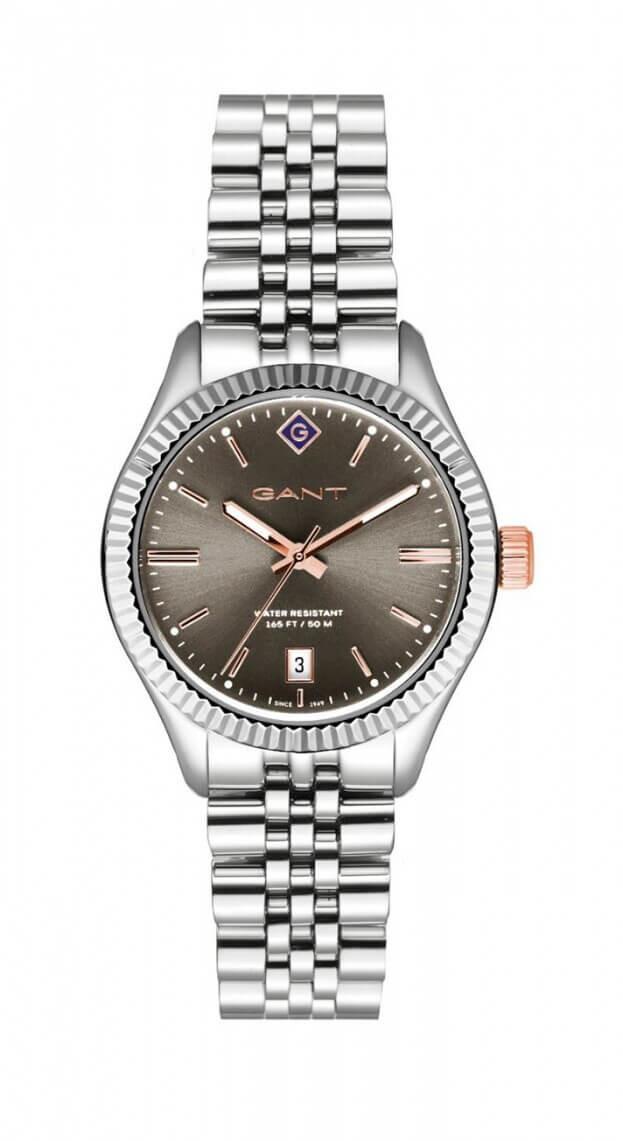 GANT Sussex 34mm Γκρι Καντράν Γυναικείο Ρολόι