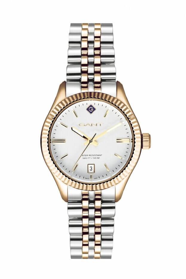 GANT Sussex 34mm Λευκό Καντράν Γυναικείο Ρολόι