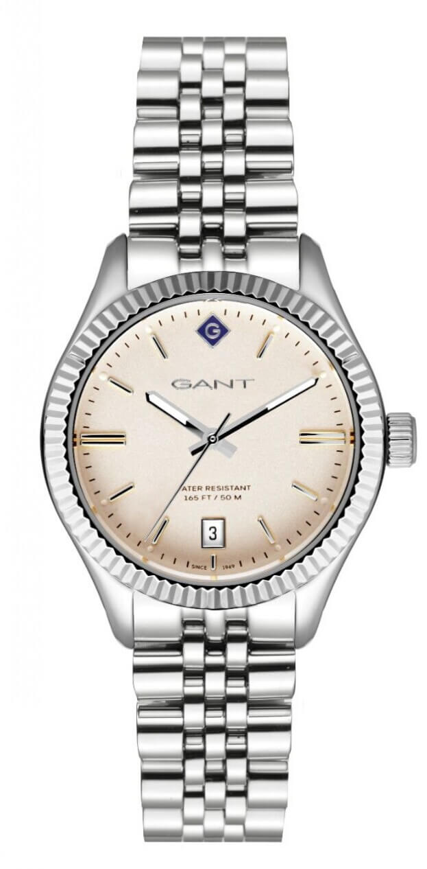 GANT Sussex 34mm Μπεζ Καντράν Γυναικείο Ρολόι