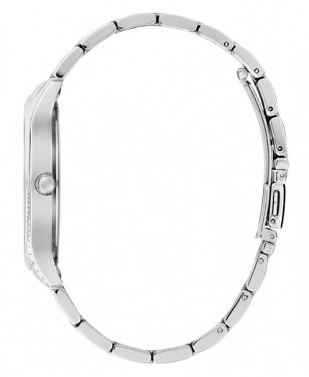 GUESS ROYAL Quartz 40mm Ασημί Καντράν Γυναικείο Ρολόι