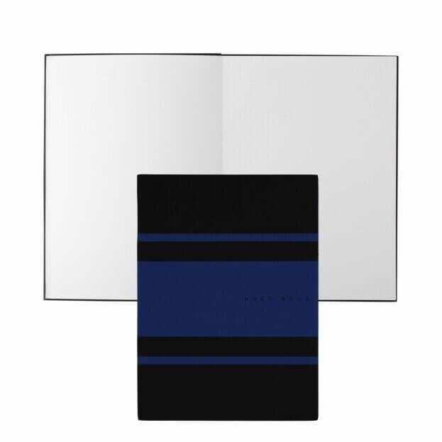 HUGO BOSS Gear Matrix Notepad Ντοσιέ Α5 Μαύρο/Μπλε