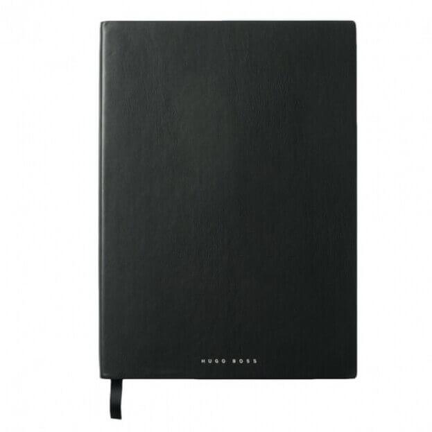 HUGO BOSS Σημειωματάριο A4 Μαύρο