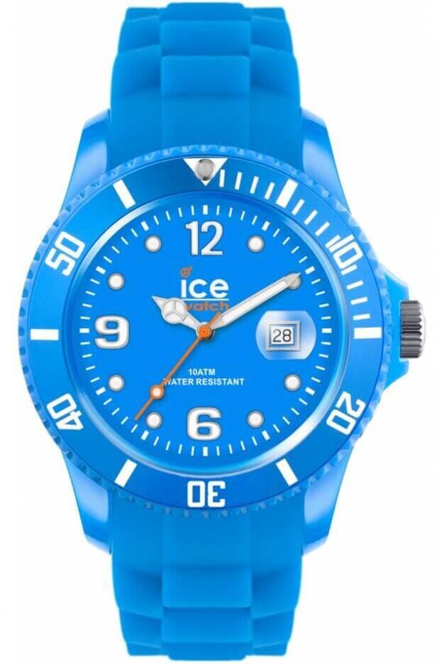 ICE WATCH ICE FLASHY-NEON BLUE UNISEX SSNBEUS12