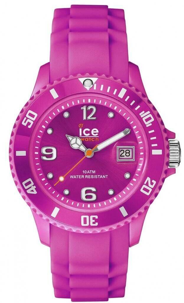 ICE WATCH ICE FLASHY -NEON PURPLE BIG BIG SSNPEBBS12