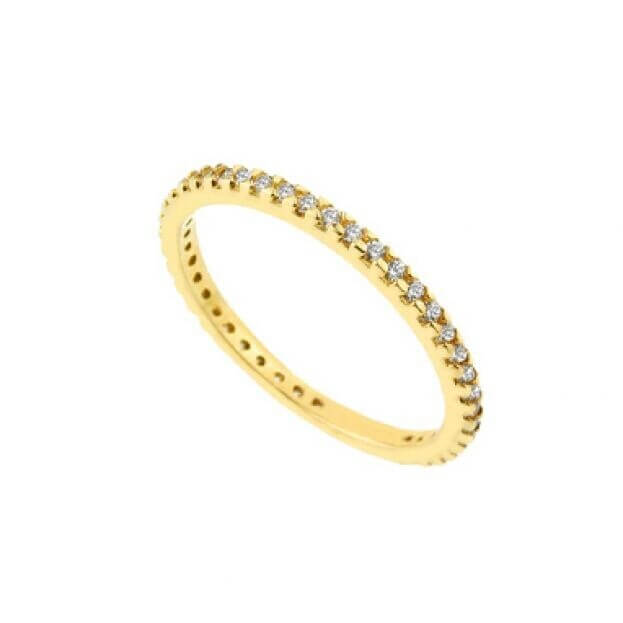 Inglessis Collection Δαχτυλίδι Κίτρινος Χρυσός Κ14