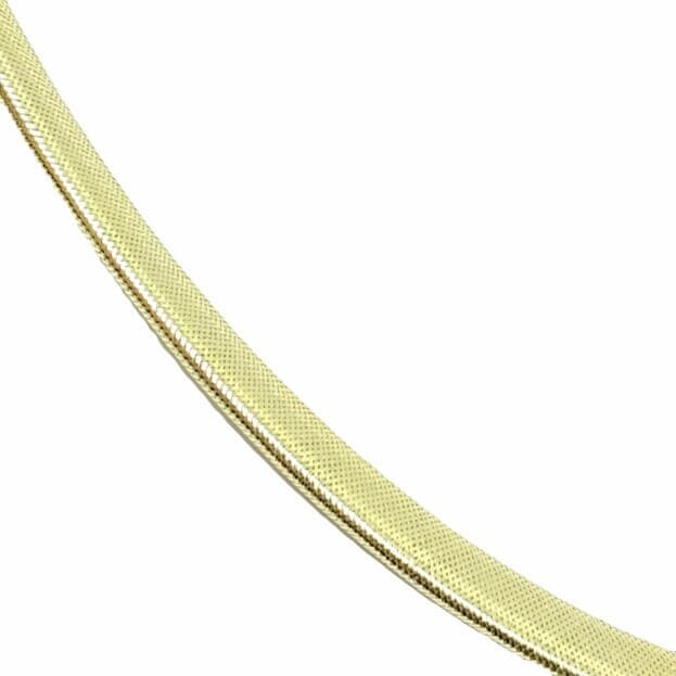 Inglessis Collection Κολιέ Κίτρινος Χρυσός Κ14