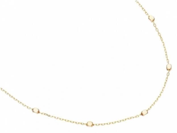 Inglessis Collection Κολιέ Κίτρινος-Λευκός Χρυσός Κ14