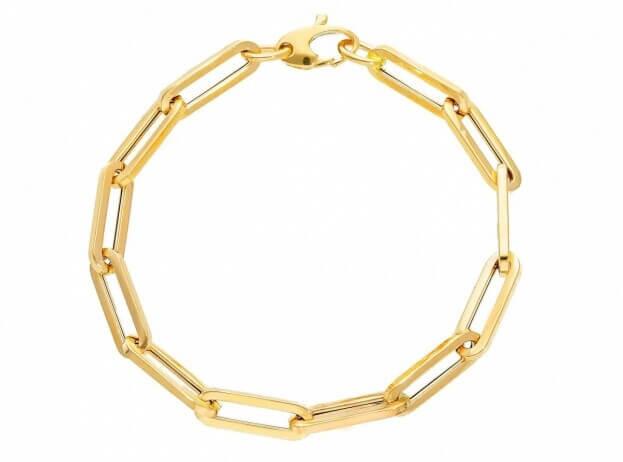 Inglessis Collection Βραχιόλι Κίτρινος Χρυσός Κ14