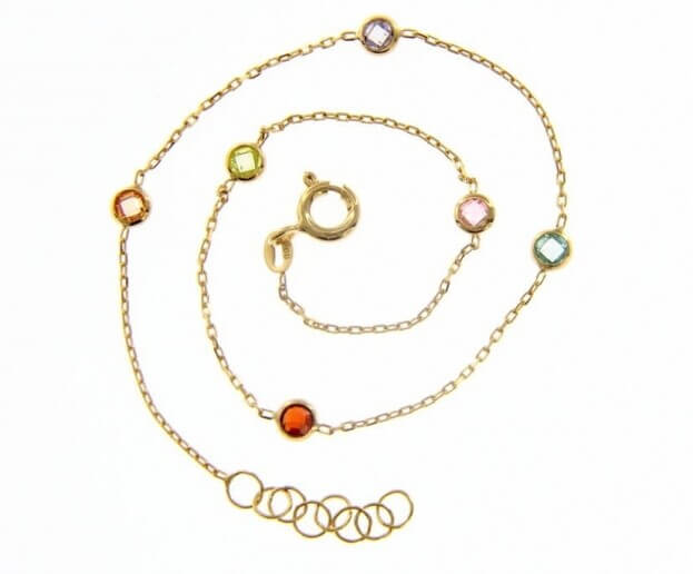 Inglessis Collection Bracelet Yellow Gold Κ14