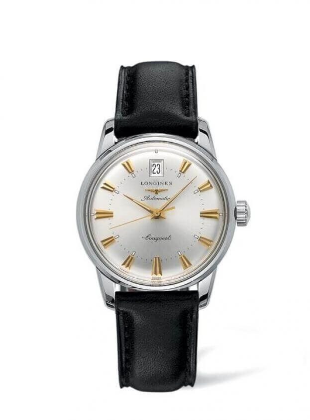 LONGINES Conquest Heritage 35mm Silver Dial