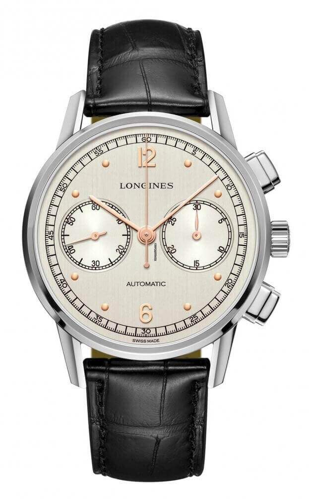 LONGINES HERITAGE CHRONOGRAPH 1940 41mm Ασημί Καντράν Special Edition