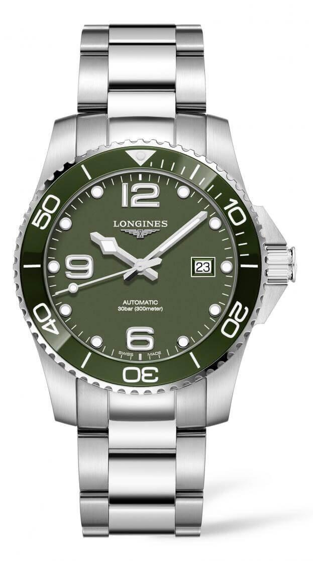 LONGINES HydroConquest Automatic 41mm Πράσινο Καντράν Ανδρικό Ρολόι