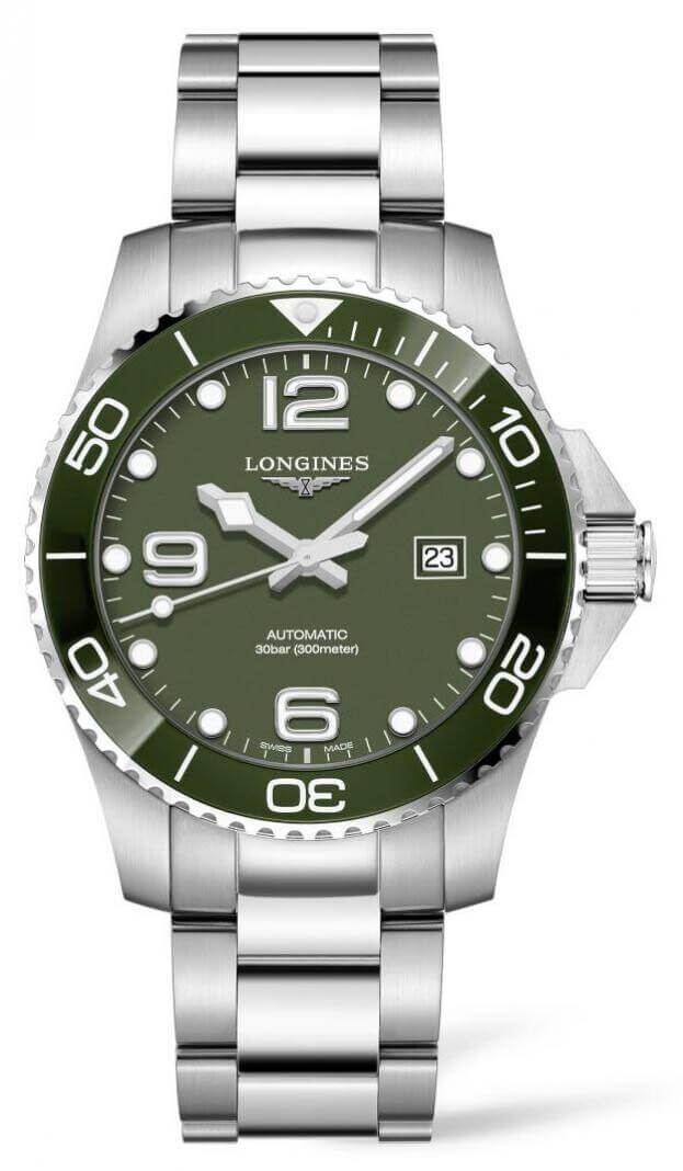 LONGINES HydroConquest Automatic 43mm Πράσινο Καντράν Ανδρικό Ρολόι