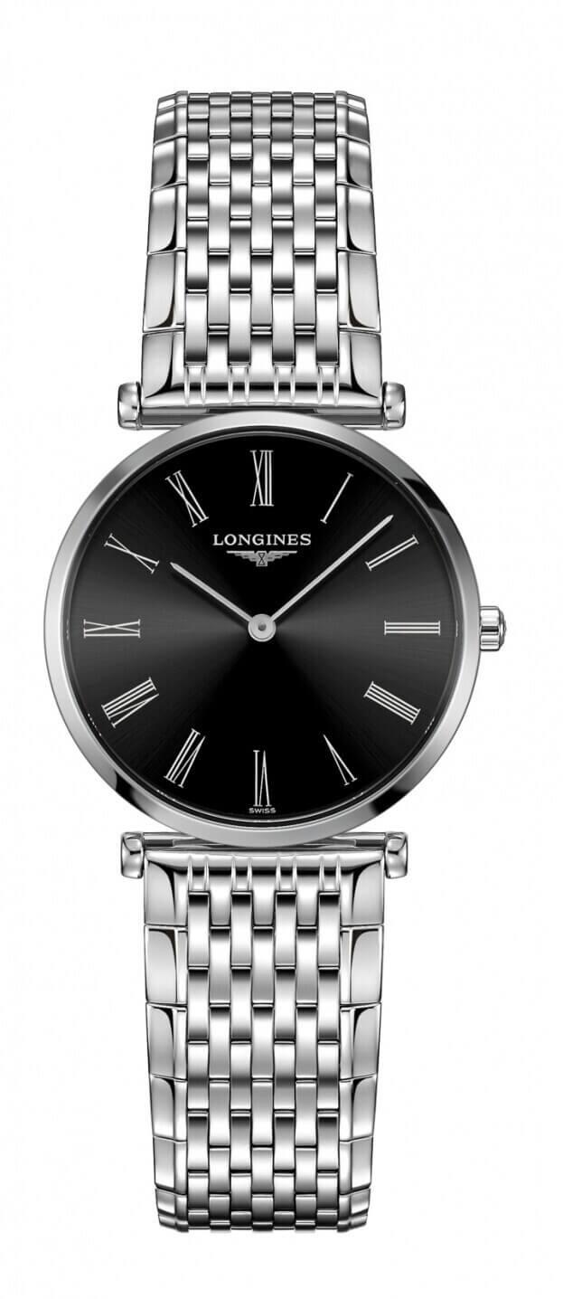 LONGINES La Grande Classique Quartz 29mm Μαύρο Καντράν Γυναικείο Ρολόι